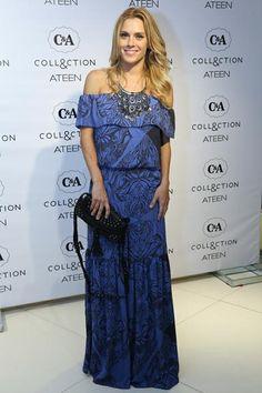Carolina Dieckmann prestigia evento fashion no Rio de Janeiro