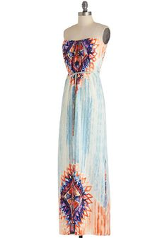 Bold in Brushstrokes Dress | Mod Retro Vintage Dresses | ModCloth.com