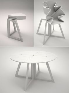 Grand Central Transforming & Expanding Table - OhGizmo! #Technology