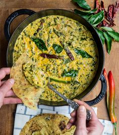 Yogurt Spinach Curry – WILD GREENS & SARDINES