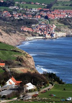 Robin Hood's Bay and the cliffs of the North Yorkshire Coast