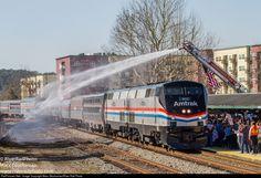 RailPictures.Net Photo: Amtrak 822 Amtrak GE P40DC at Tallahassee, Florida by Marc Glucksman/River Rail Photo