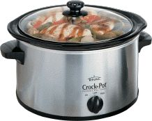 Crock pot all winter. Tons  of Crock Pot Recipes..