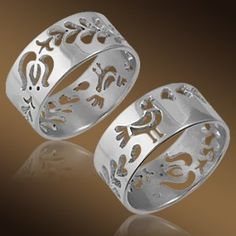 Hungarian folk style ring, Magyar npmess gyr Click the website to see how I…