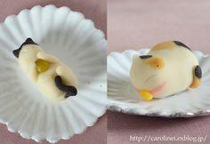 Japanese mochi cake