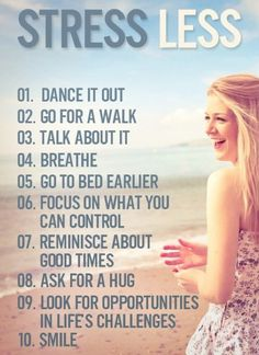 This is how I will keep my life stress-free this year. #positivethinking