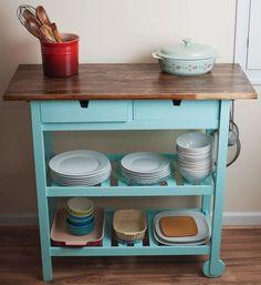 Bon IKEA FÖRHÖJA Kitchen Cart Gives You Extra Storage, Utility And Work Space.