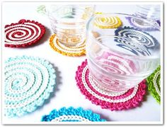 Made in K-town: Spiral Coaster/Potholder Pattern