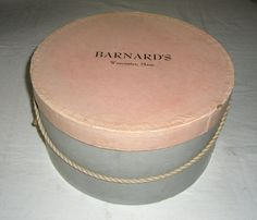 Vintage Barnards Ladies Hat Box by honeybeepollen on Etsy Vintage Hat Boxes, Hats For Women, Yellow, Lady, How To Wear