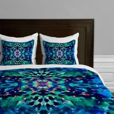 Once again the past comes back to us either to remind or annoy...!  rolf!  Retro waterbed anyone???  lol   DENY-Designs-Amy-Sia-Water-Dream-Queen-Duvet-Cover-Bedspread