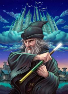 Allen Douglas | DIGITAL ART | The Wizard of Rondo