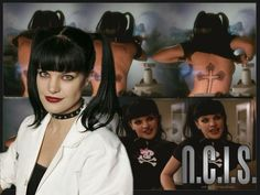 "Pauley Perrette in ""N.C.I.S"""