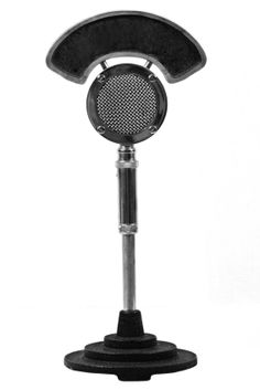 Vintage 30 S Du Wa Radio Broadcast Microphone Talk Through
