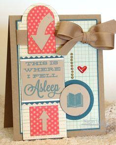 Bookmark Duo Die-namics and Stamp Set - Megan Lock