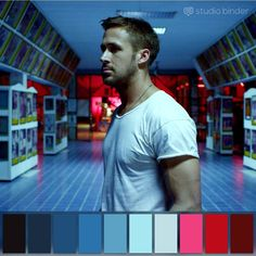 """Tap like if you want more color palettes like this 😍🎨  """"Only God Forgives"""" Movie Color Palette, Colour Pallette, Color Combos, Color Schemes, Under The Skin Movie, Light Cinema, Color In Film, Colours That Go Together, Cinema Colours"""