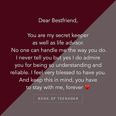 New Missing Your Best Friend Quotes Funny True Friendships Ideas Happy Birthday Best Friend Quotes, Friend Love Quotes, Best Friend Quotes Funny, Besties Quotes, Poem On Best Friend, Birthday Quotes Bff, Friend Sayings, Best Friend Quotes Meaningful, Dear Best Friend