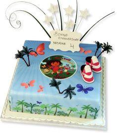 Dora Explora Cake Baker How To Make Gluten Free Birthday