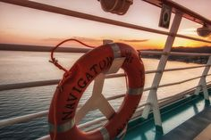 Each sunset is better than the last. Navigator of the Seas.