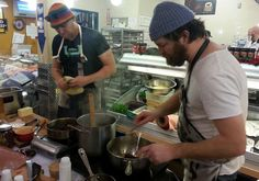 Nfld chefs of the finest kind - Todd Perrin & Jeremy Charles