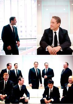 Sharp men's wedding style, groom wearing Isaiah suit - Amanda Wilcher Photographers
