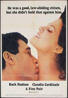 "A Fine Pair (1968) ""Ruba al prossimo tuo"" (original title) Stars: Rock Hudson, Claudia Cardinale, Leon Askin, Tomas Milian ~  Director: Francesco Maselli"
