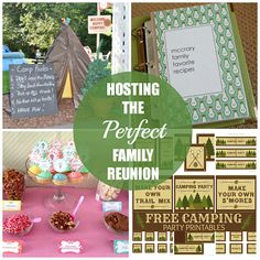 Hosting the Perfect Family Reunion #familyreunion
