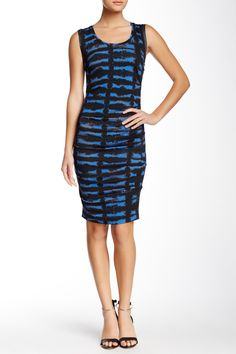 Tie Dye Ruched Bodycon Dress by Nicole Miller on @nordstrom_rack