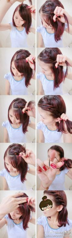 hair cuts for long hair hair cuts for long hair Pretty Hairstyles, Cute Hairstyles, Braided Hairstyles, Updos Hairstyle, Hairstyle Tutorials, Natural Hair Updo, Natural Hair Styles, Short Hair Styles, Braids For Kids