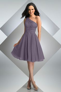 Style 230: Bridesmaids, Prom, Special Occasion & Evening: Bari Jay and Shimmer wisteria