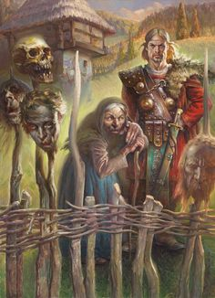 PETAR MESELDŽIJA ART: Serbian fairytales