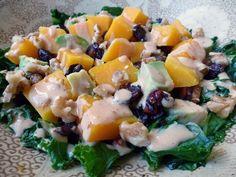 #Kale, Squash & Black Rice Bowl with Lemon Tahini Sauce #Recipe. #Vegan #Glutenfree