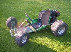 We had a go cart very similar to this. So fun