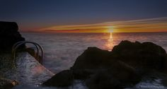 https://flic.kr/p/yuJeSk | Sunrise over Sea, city of Antibes Juan Les Pins, French Riviera by Domi RCHX Photography | Lever du soleil sur la mer, ville d'Antibes Juan Les Pins, Côte d'Azur, FRANCE par Domi RCHX Photography
