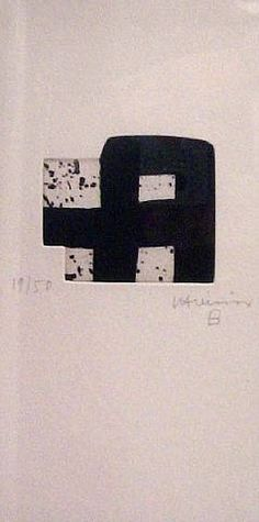 Eduardo Chillida (1924-2002), Untitled, 2000. Prints and multiples, etching. 26.5cm H x 13.5cm W.