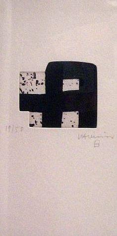 Eduardo Chillida (1924-2002), Untitled, 2000. Prints and multiples, etching. 26.5cm H x 13.5cm W.