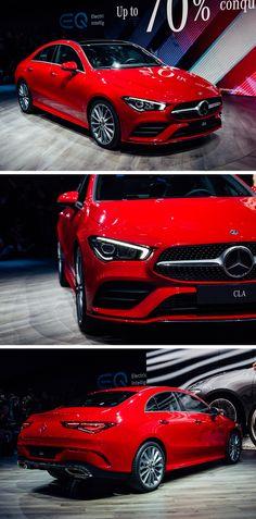 The new Mercedes-Benz CLA Coupé (C The design underlines the coupé character. Mercedes Car, Mercedes Benz Amg, Berlin, Merc Benz, New Helmet, My Dream Car, Dream Cars, Future Car, Autos