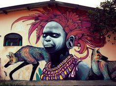Street Art São Jorge Brasil