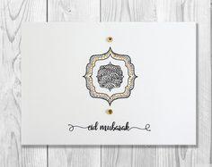 Eid mubarak card eid greeting card happy eid by sidraartboutique hand drawn eid mubarak card eid greeting card happy eid islamic cards muslim cards islamic greetings m4hsunfo