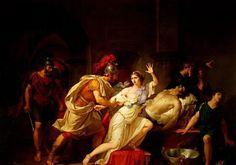 Marco Antonio y Cleopatra se suicidaron. Y los enterraron juntos.