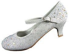 Oferta: 19.51€. Comprar Ofertas de Spot On - Zapatos de vestir de Material Sintético para niña Plateado plata barato. ¡Mira las ofertas!
