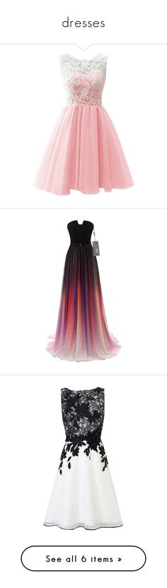 """""""dresses"""" by racheloxley ❤ liked on Polyvore featuring dresses, short dresses, vestidos, cocktail dresses, pink, red bridesmaid dresses, lace cocktail dress, pink prom dresses, bridesmaid dresses and short homecoming dresses"""