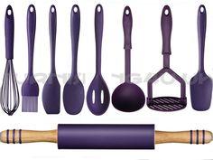 Purple Kitchen Sets Brand New 9 Piece Kitchen Utensils Cutlery Set Turner Masher Whisk .