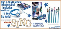 SING Printable Activity Pages + Prize Pack Giveaway | Ends 12.13.16