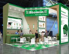 Biomin exhibition stand