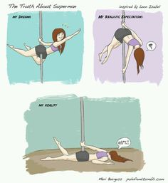 11 reasons why pole dancing is not as easy as it looks
