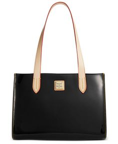 Dooney & Bourke Patent Leather Small Shopper