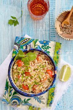 Tipili (Bulgar salad) | via Aunt Clara's Kitchen