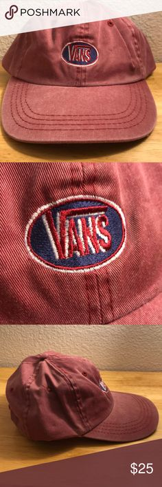 Vintage Vans Hat Vintage Vans Hat, Brand New, Never Worn or Used, WILL SHIP IN ONE DAYAll bundles of 2 or more receive 20% off. Closet full of new, used and vintage Vans, Skate and surf companies, jewelry, phone cases, shoes and more. Vans Accessories Hats
