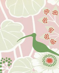 Hanna Werning wallpaper. Love this, but  I don't have any room for it in my house.