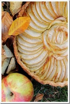 French Apple Tart (Tarte Tatin) -recipe